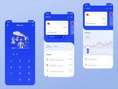 CC Bank App designed by Avtø . Connect with them on Dribbble; Web Design, App Ui Design, Interface Design, User Interface, Design Layouts, Graphic Design, Flat Design, Mobile App Design, Finance