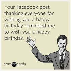 The best cousin birthday Memes and Ecards. See our huge collection of cousin birthday Memes and Quotes, and share them with your friends and family. Belated Birthday Funny, Funny Happy Birthday Pictures, Funny Happy Birthday Wishes, Happy Wishes, Funny Birthday Cards, Birthday Memes, Birthday Posts, Birthday Stuff, Birthday Crafts