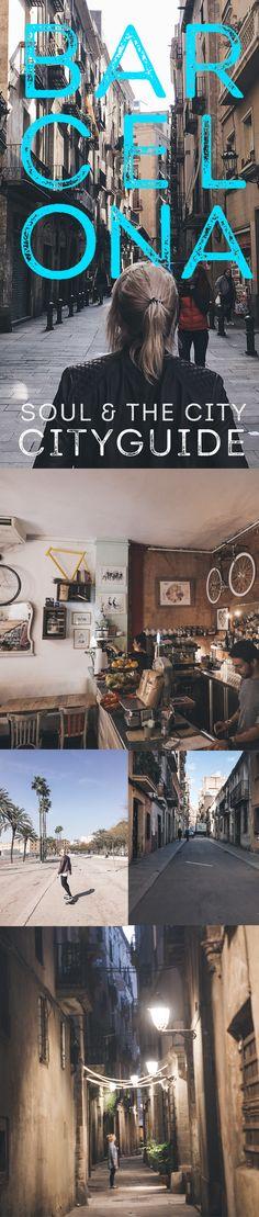 Mit unseren Tipps wird dir garantiert nicht langweilig. Wir zeigen dir unsere Lieblingsspots und verraten dir was du neben all den Touridingen sonst noch schönes in Barcelona machen kannst.  Folge uns auch auf instagram: http://www.instagram.com/soulmush  #barcelona #cityguide #food #coffee #shopping