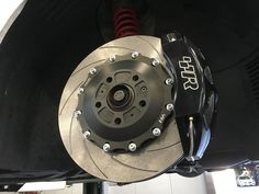 Racingline Front Brake Kit, 360mm Disc and Red 6-Pot Calipers
