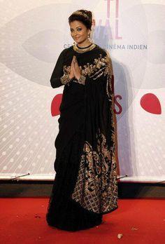 Aishwarya Rai arrives at the Cannes Gala honoring 100 Years of Indian Cinema