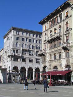 Trieste, Friuli-Venezia Giulia, Italy.  OMG how many times was I here???