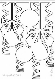 Christmas Colors, Christmas Art, Christmas And New Year, Christmas Ornaments, New Years Decorations, Paper Decorations, Christmas Decorations, Christmas Coloring Pages, Coloring Book Pages