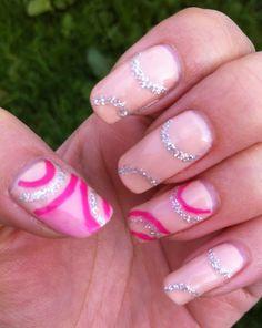 Pink n glitter in the garden :) Bio Sculpture Gel Nails, Pink Nails, Creative Inspiration, Glitter, Garden, Beauty, Garten, Lawn And Garden, Pink Nail