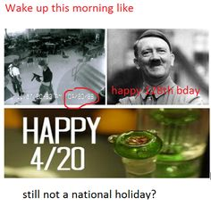 maybe trump will make today a national holiday