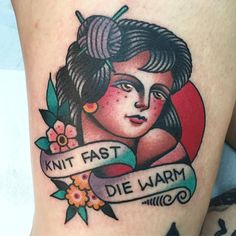 Knit Fast Die Warm by @moveslow at TCB Tattoo Parlour in Toronto Ontario. #knitting #knittingtattoo #knitfast #diewarm #moveslow #tcbtattoo #tcbtattooparlour #toronto #ontario #canada #tattoo #tattoos #tattoosnob