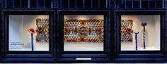 'Liberty Carpets' Window Display at Liberty London by WE MAKE CARPETS