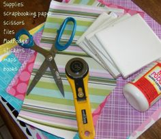 Decoupage Coaster Tiles Craft