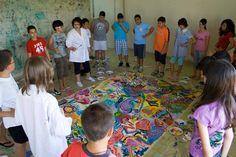 """Work in progress """"La stanza del colore"""" di Anna Seccia a Casoli d'Atri-Museo sotto le stelle Dal 5 al 16 luglio 2010"""
