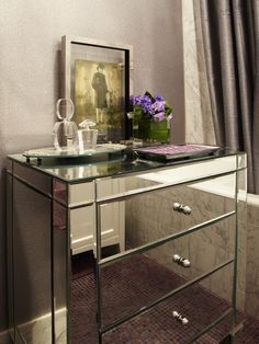 Mirrored Bathroom Cabinet. Yay or Nay? (By Design Star Danielle Colding) #pinwithmeg