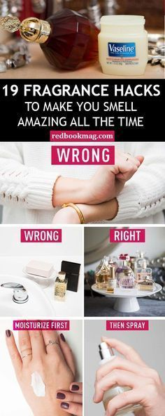 BEST FRAGRANCE HACKS: Get the most out of your pricey perfumes with these beauty secrets! Here you'll learn why it's best to store perfume away from bathrooms, how to make the scent last longer, and why you should always apply an unscented lotion before spraying your fragrance!