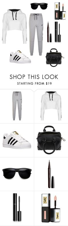 """""""Casual"""" by gennijan on Polyvore featuring NIKE, Topshop, adidas, Givenchy, Marc Jacobs, Chanel and Yves Saint Laurent"""