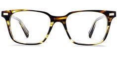 Baxter in Striped Sassafras - Eyeglasses - Women   Warby Parker ($95)