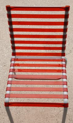 Striped Chair by The Bourroullec Brothers
