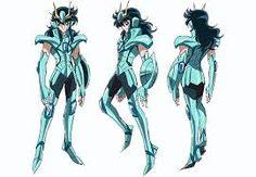 Resultado de imagen para primera armadura de ryuho de dragon saint seiya omega