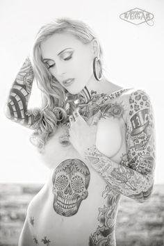 Miss24 #Tattoos #Girls