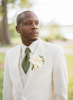 Dapper groom: http://www.stylemepretty.com/missouri-weddings/st-louis/2015/04/01/elegant-tuscany-inspired-wedding/ | Photography: Shelly Goodman - http://www.shellygoodmanphotography.com/