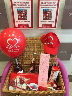 For the second year in a row, we are supporting the Wear It Beat it campaign for the British Heart Foundation. Prize Draw, Go Red, Heart Beat, Hamper, In A Heartbeat, Fundraising, The Row, Beats, February