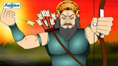 Abhimanyu Caught in Chakravyuha - Mahabharat (English) English Stories For Kids, Kids Stories, English Story, The Mahabharata, Animation, Story In English, Animation Movies, Motion Design