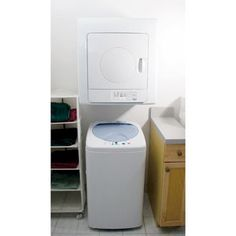 Compact Washer And 2.6 Cu. Ft.Tumble Dryer Set