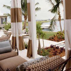 2004 | Palm Garden Retreat | Tampa Bay | Master Porch