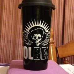 My new favorite mug....VOLBEAT!