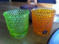 Three candlelights from Reijmyre Glassworks House in Sweden. Art Nouveau, Art Deco, Sweden House, Retro Art, Great Memories, Sticks, Lanterns, Glass Art, Candle Holders