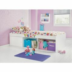 Logan Cabin Bed Frame - White at Argos.co.uk