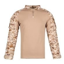 Men Combat Shirt Tactical Special Forces Camouflage Clothing Outdoor Training Military Uniform Adult Army Tops S Us Army Clothing, Camouflage Clothing, Army Clothes, Combat Shirt, Fishing Outfits, Special Forces, Military, Training, Mens Tops