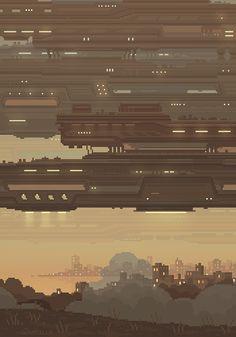 34 Gifs em pixels que vão te deixar muito relaxado - Universo Paralelo