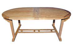 Rye Double Extension Table on OneKingsLane.com