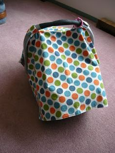 This would be nice so I could use any pattern I want! Carseat Cover Tutorial {Small Fry and Co.} | Oopsey Daisy (for the future)