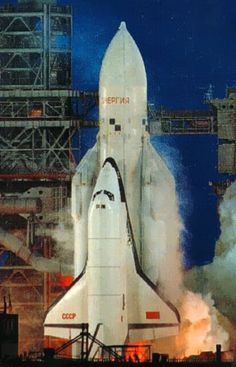 Buran at lift off