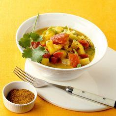 ESSEN & TRINKEN - Paprikacurry mit Kokosmilch Rezept