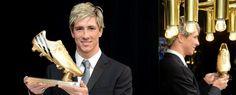 ORRES recibió la BOTA DE ORO    Fernando Torres recibió la Bota de Oro de la Eurocopa 2012, trofeo que suma al hecho de ser campeón de Europa de selecciones en esta última edición y en la de 2008 -gol decisivo incluido en la final- y campeón del mundo en 2010. Amén de conquistar la FA Cup y la Champions League este año con el Chelsea.
