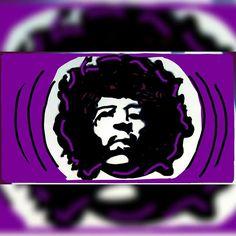 Jimi Hendrix Snapchat Art, Jimi Hendrix, Fictional Characters, Fantasy Characters