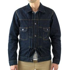 Momotaro 14.7oz. Deep Blue Denim Jacket