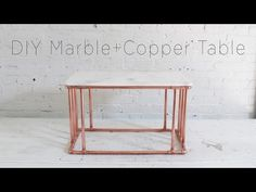 HomeMade Modern EP80 Copper Marble Table