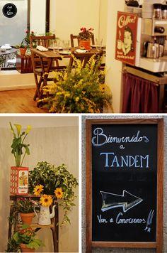 Restaurante Tandem by Triciclo en el barrio de las Letras - Madrid