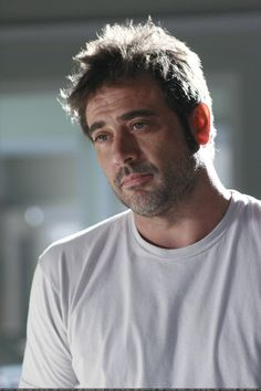 Jeffrey Dean Morgan is extremely attractive, but I feel really weird saying that because he's Sam and Dean's daddy...