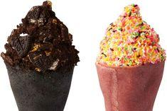 ソフトクリームとクレープが合体! Chocolate Sprinkles, Muffin, Meat, Breakfast, Food, Morning Coffee, Muffins, Cupcake, Meals