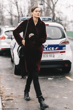 Street Style Paris Haute Couture II | Collage Vintage