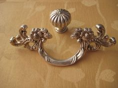 1 77 2 5 Shabby Chic Dresser Pull Drawer Pulls Door Handles Antique Silver French Vintage Cabinet S Handle Hardware 45 64 Mm