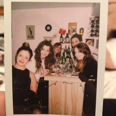 Eleanor with Emma, Alana, Emily and Julie for Alana's ❤ Xxxxx Louis Girlfriend, Badass, Gemma Styles, Eleanor Calder, Sweet Lady, The Girlfriends, Her Style, Role Models, Boy Bands
