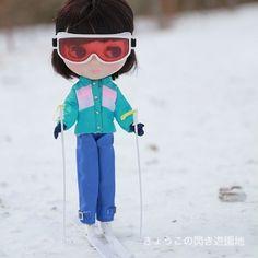 #blythe  #toyrevolution  #ブライス  私をスキーに連れてって - @kyoko569- #webstagram