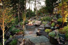 Fotos Von Rustikalen Gärten Mit Herrlichen Designs