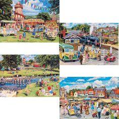Stop Me & Buy One - 4 x 500 Piece jigsaw puzzle