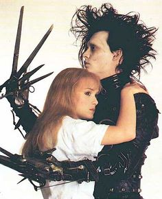 Edward Scissorhands....weirdly, I like this movie.....blend, blend, blend