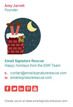customize the understated email signature template with your own details and images