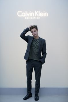 """calvinklein: """"Cameron Dallas. Photographed by Kevin Tachman. """""""